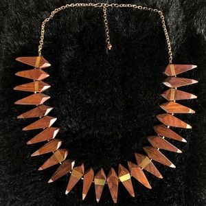 Noonday Collection Wood Diamond Necklace
